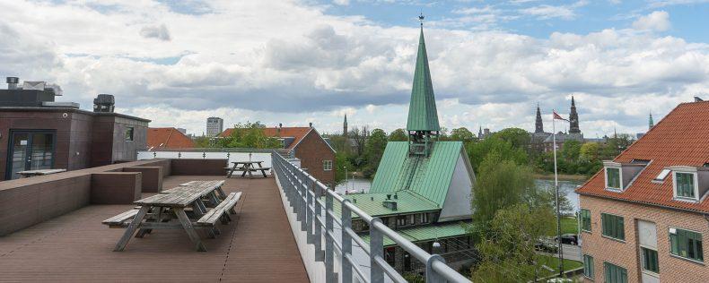 DIS Kollegier Mønten - Rooftop