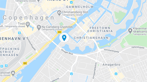 Langebro Map