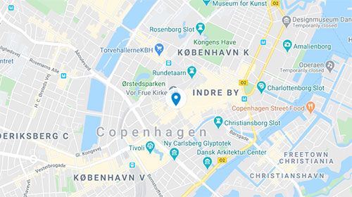 DIS Kollegier Skindergade 40 Map