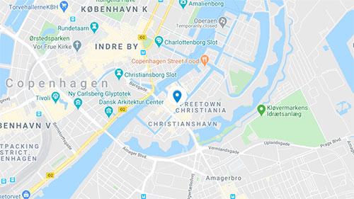 DIS Kollegier Sankt Annæ Gade Map