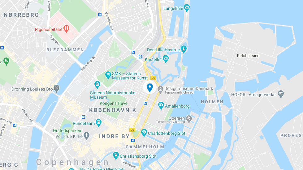 DIS Boliger Store Kongengsgade Map