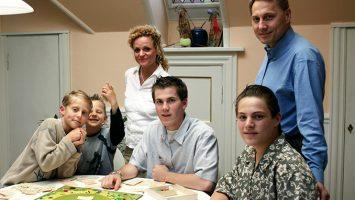 Familietid hos værtsfamilien