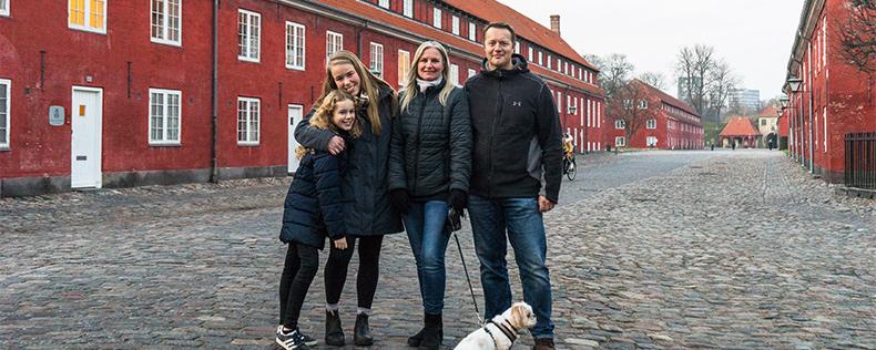 Bliv besøgsfamilie for en studerende fra et amerikansk universitet