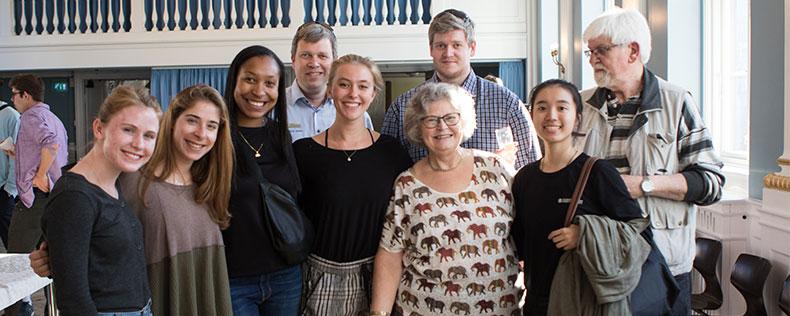 familie til jubilæumsfest på dis forår 2019