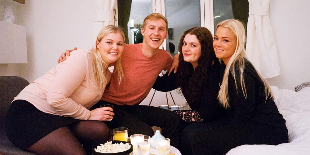 danske studerende med amerikank roommate
