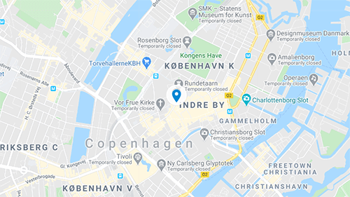 Skindergade Map